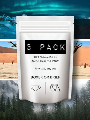 Dirt Squirrel Nature 3 Pack Underwear