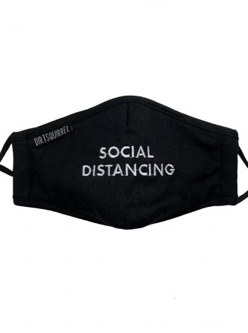 Dirt Squirrel Social Distancing Mask